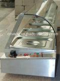Catering Equipo de cocina, de lujo de cristal 6 cuencas eléctrico Baño María (VB-95)
