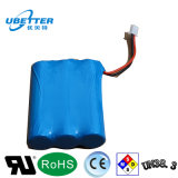 1s3p 3.7V Pak van de Batterij van het 7800mAhLithium het Ionen