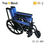 [توبمدي] كرسيّ ذو عجلات [فولدبل] يدويّة بيتيّة بلاستيكيّة
