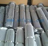 Cartucho de filtro plisado del acero inoxidable para el POY y FDY