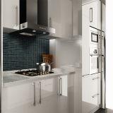 Houten Keukenkast van de Lak van het Project van Australië van Oppein de Modulaire Ingebouwde (OP14-L02)