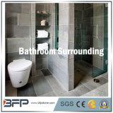 浴室の囲むか、または壁または床タイルのために対処する涼しい様式の黒のスレートの浴室