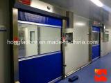 Высокоскоростная дверь завальцовки PVC промышленная автоматическая (HF-k04)
