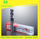 Laminatoio di estremità solido del carburo del laminatoio di estremità del carburo di tungsteno