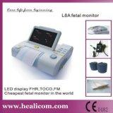 Monitor fetal de la exhibición de LED del monitor paciente (L8A)