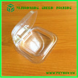 Caixa desobstruída plástica do acetato feita por Base e por tampa