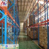 Sistema selectivo del tormento de la paleta del almacenaje del almacén