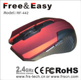 Selling caliente 6D 2.4G Wireless 3 Speed Wireless Mouse