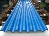 Zolla di tetto rivestita di colore ondulato