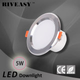 5W 3.5 la pulgada LED Downlight abajo se enciende con la lámpara del techo de Ce&RoHS