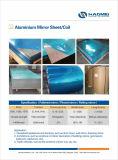 Aluminiumgitter-Blatt 6063 für Beleuchtung