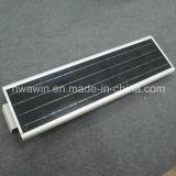 luz solar Integrated de alumínio do jardim da rua do diodo emissor de luz 18W