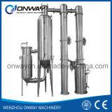 Planta de destilação solvente eficiente do álcôol dos equipamentos da destilaria do álcôol do álcôol etílico do acetonitrilo do aço inoxidável de preço de fábrica de Jh Hihg