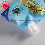 Fabrik-Großverkauf kundenspezifischer Fastfood- Stützblech-Tülle-Nahrungsmittelbeutel für Gelee-Saft