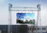 P4.81 cartelera al aire libre a todo color del alquiler LED con los paneles de 500X500m m