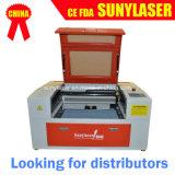 Grabador caliente del laser de las ventas para los no metales con el CE FDA