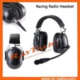 頑丈なヘッドセットのQdcケーブルと取り消す二重イヤーマフの騒音
