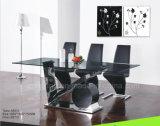 6のための安い価格の上のガラス長方形のダイニングテーブル