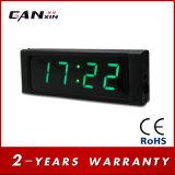 "[Ganxin] 1개의 "" 소형 발광 다이오드 표시 세계 시간 디지털 시계"