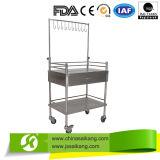 Chariot mobile à soins d'acier inoxydable (CE/FDA/ISO)
