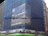 Frontière de sécurité de tissu d'impression de stand de drapeau de drapeau de maille de PVC (500X1000 18X12 370g)