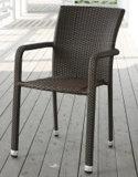 Напольные штабелируя стулы качества алюминиевые Wicker (RC-06030)