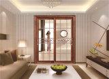 Metallwohnzimmer-Glasschiebetür