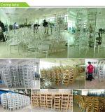 Empilant la présidence en aluminium de Chiavari de mariage de restaurant d'hôtel de résine en métal (XYM-ZJ02)