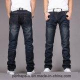新式のメンズまっすぐなズボンのデニムの長いジーンズの工場価格