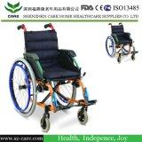 أطفال ليّنة مقادة فولاذ كرسيّ ذو عجلات