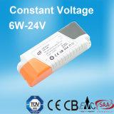 6W 12V LED Stromversorgung mit Cer CB SAA Bescheinigung