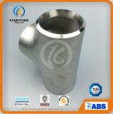 Ajustage de précision de pipe du té Wp316/316L d'égale de té de solides solubles avec du ce (KT0083)