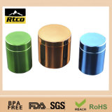 HDPE Plastic Canister para Nutrition Powder con PP Lid