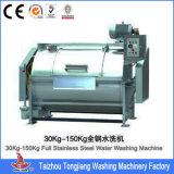 máquina de lavar 400kg industrial semiautomática resistente