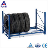 창고 Foldable와 Portable Truck Tire Rack