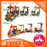 Giri interessanti del parco di divertimenti del treno elettrico dei bambini