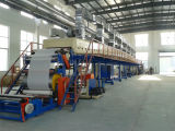 China BOPP en de Zelfklevende Machine van de Deklaag van de Ponsband van Kraftpapier