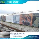 Abrigo y banderas al aire libre del vinilo (M-NF36F07006) de la cerca