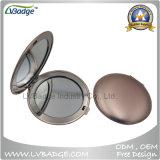 Espelho relativo à promoção do estojo compato do metal, espelho cosmético, espelho Pocket