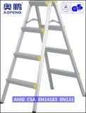 Telescopische Ladder van het Aluminium van de Uitbreiding van de Kruk van de Stap van het Huishouden van het staal de Uiteindelijke (ap-2104)