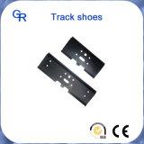 Pièces de chaussure et de train d'atterrissage de semelle de Doosan Dh320 d'excavatrice