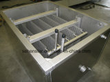 Cambiador de calor ancho sumergido del diseño de canal del acero inoxidable