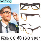 Wholesale Top Quality Fashion Handmade Wooden Acetate Eyeglass Spectacle Frames