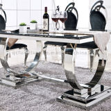 Tabelle pranzanti di uso della mobilia domestica moderna del salone