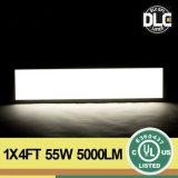 >100lm/W Dlc blanc normal 1 pi X écran plat de bâti enfoncé par LED de 4 pi