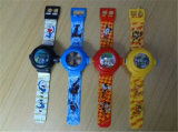 Chiffre de vente chaud de petite taille de dessin animé de PVC montre en plastique drôle artificielle pour le souvenir de gosses