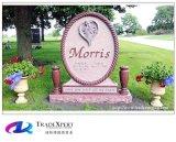 Het Amerikaanse Monument van India van de Stijl Rode Ernstige Begrafenis Rechte voor Begraafplaats