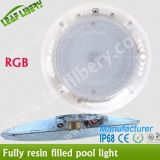 2015 Nova Resina Cheio LED Piscina SPA Underwater Light