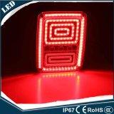 per la lampada posteriore di Jk LED dell'indicatore luminoso di freno di inverso di girata di esecuzione dell'indicatore luminoso della coda di Rubicon LED del Wrangler della jeep