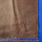 La fibre de carbone a desserré le couvre-tapis coupé de voile de brin pour le dépoussiérage